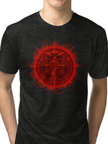 Human Transmutation Circle. Fullmetal Alchemist Tri-blend T-Shirt