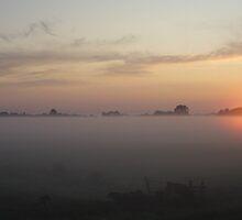Sunset by Willem Hoekstra