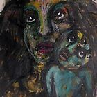 Mother and Child, Bernard Lacoque-2 by ArtLacoque
