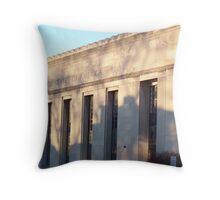 Oak Park Post Office Throw Pillow