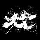 Gonzo Zodiac - Aquarius (white) by Sladeside