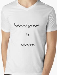 Hannigram is canon Mens V-Neck T-Shirt