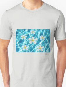 Frangipani flowers Unisex T-Shirt