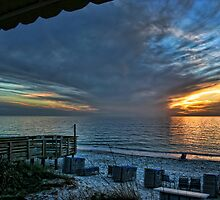 Pelican Bay Beach by Monica M. Winkler