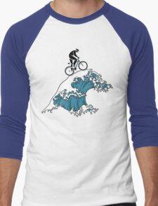 Bike Cycling Bicycle  Men's Baseball ¾ T-Shirt
