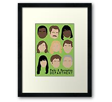 Parks Team Framed Print