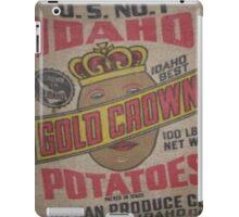 Potato Sack Sex Kitten iPad Case/Skin