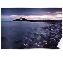 First light over Penmon point Poster