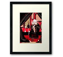Vampire Sitting Framed Print