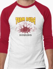 The Dude Bowling T-Shirt Men's Baseball ¾ T-Shirt