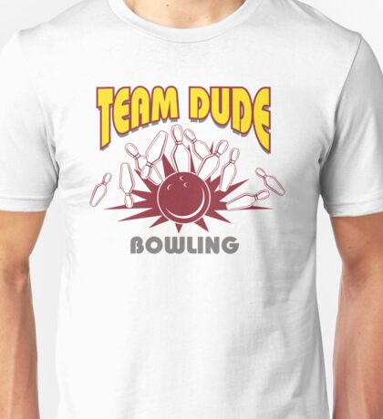 The Dude Bowling T-Shirt Unisex T-Shirt