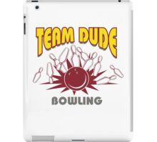 The Dude Bowling T-Shirt iPad Case/Skin