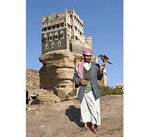 FALCONER - YEMEN Photographic Print