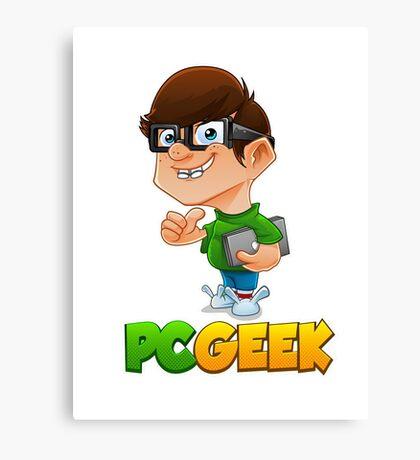 PC Geek Canvas Print