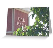 Summer Arrives in Oak Park Greeting Card