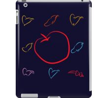 An apple and seven hats iPad Case/Skin