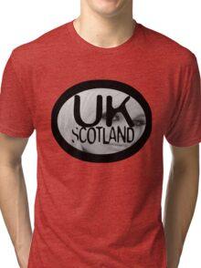 uk scotland with stephanie by ian rogers Tri-blend T-Shirt