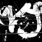Gonzo Zodiac - Capricorn (white) by Sladeside