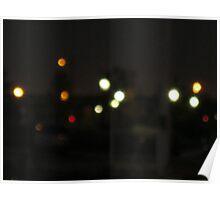 Dark sky pretty lights Poster