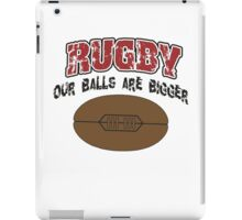 Funny Rugby iPad Case/Skin