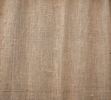 Burlap texture with thick and coarse thread by vladromensky