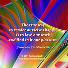 The True Way To Render Ourselves Happy by Kazim Abasali