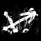 Gonzo Zodiac - Sagittarius (white) by Sladeside