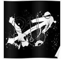 Gonzo Zodiac - Sagittarius (white) Poster