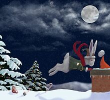 White Rabbit Christmas by Audra Lemke