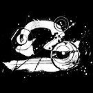 Gonzo Zodiac - Libra (white) by Sladeside