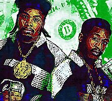 Eric B and rakim are paid in full by art-customized