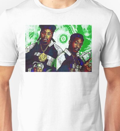 Eric B and rakim are paid in full - www.art-customized.com Unisex T-Shirt