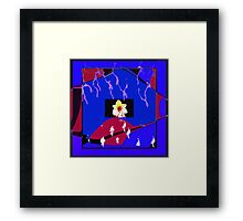 Crying Daffodil Framed Print