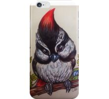 the Great spotted woodpecker iPhone Case/Skin