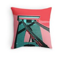 BRISTOL SUSPENSION BRIDGE  Throw Pillow