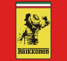 Kimi Raikkonen Ferrari Badge by TotallyF1