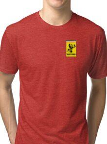 Kimi Raikkonen Ferrari Badge Tri-blend T-Shirt