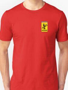Kimi Raikkonen Ferrari Badge Unisex T-Shirt
