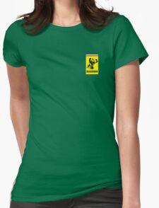 Kimi Raikkonen Ferrari Badge Womens Fitted T-Shirt