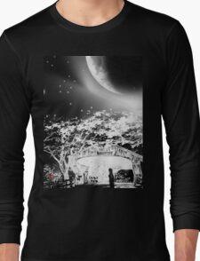 Moonlight Serenade-wall art+ products design Long Sleeve T-Shirt