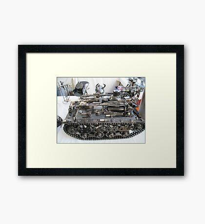 Daemon tank  Framed Print