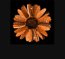 Orange flower with water drops T-Shirt