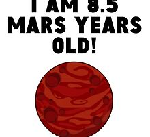 16th Birthday Mars Years by GiftIdea
