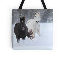 Snowflake Tastin' Tote Bag