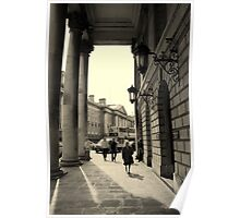 Dublin street scene Poster
