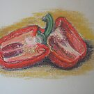 Red Pepper by Geraldine M Leahy