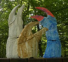 Crab Claw Sculptures Installation Part 2 by Kerralotta