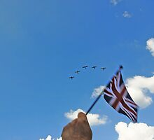 Flying the flag 2 by Trish  Anderson