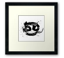 Gonzo Zodiac - Cancer Framed Print