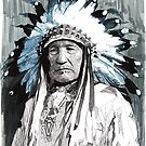 Native American Chief by RikReimert